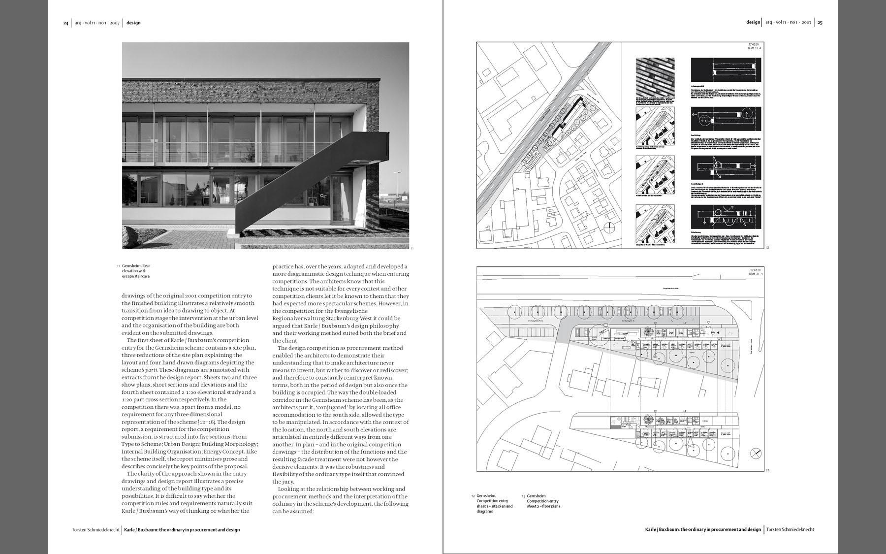 Journals | Peter Karle · Architekt